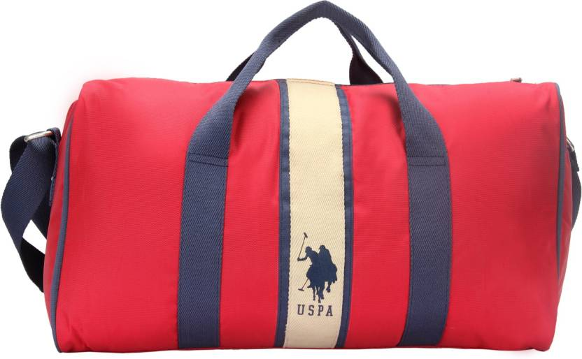 5404218dfcfc U S Polo Assn 17 Inch 45 Cm Usax0096 Travel Duffel Bag Red Price
