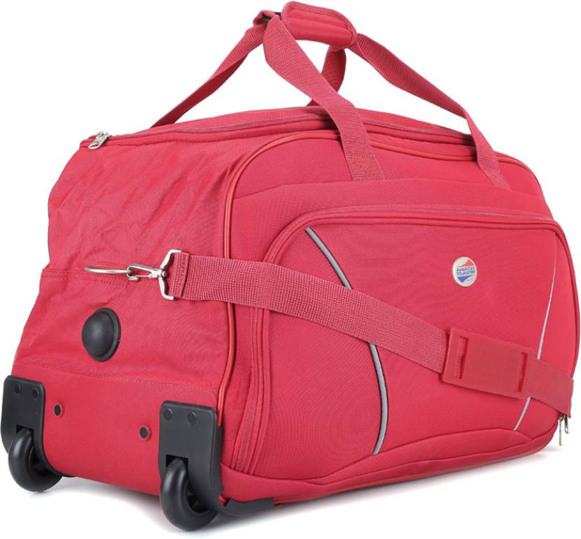 American Tourister 22 inch 57 cm Vision Travel Duffel Bag Red - Price in  India  4a13d987c6f1d