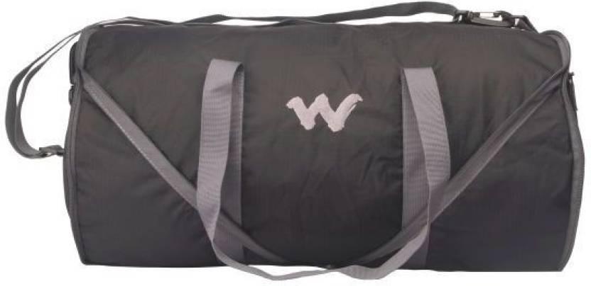 b55903f5d735 Wildcraft 18 inch 46 cm Frisbee 2 Black Gym Bag Black - Price in ...