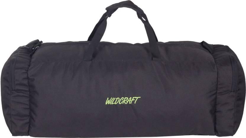 wildcraft power 22 inch55 cm travel duffel bag black