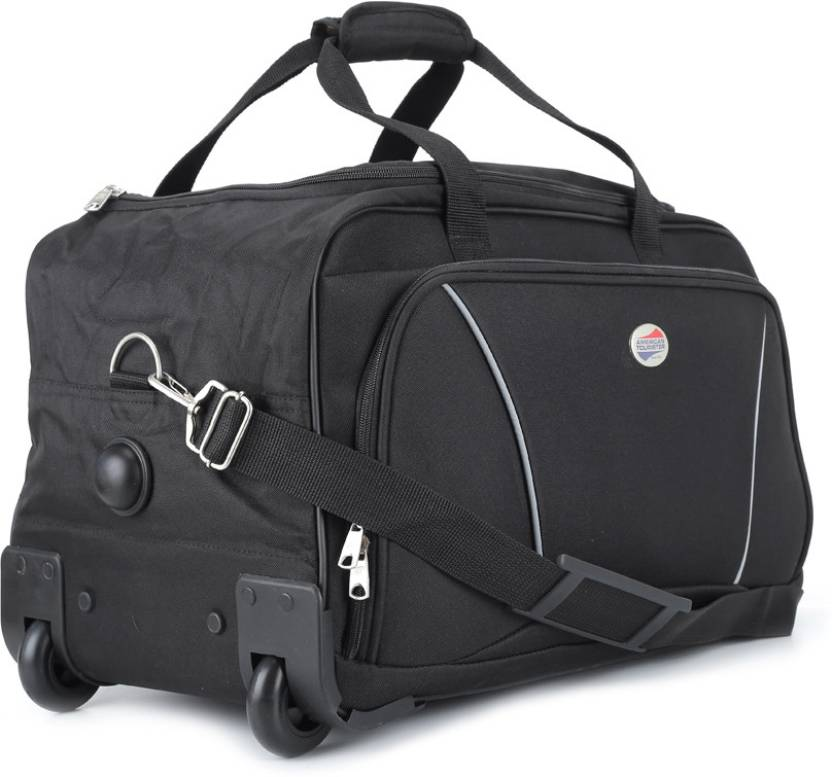 c2768dc451 American Tourister 22 inch 57 cm Vision Travel Duffel Bag Black ...
