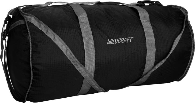 ba7e37a80f41 Wildcraft 18 inch 46 cm Frisbee Travel Duffel Bag Black - Price in India