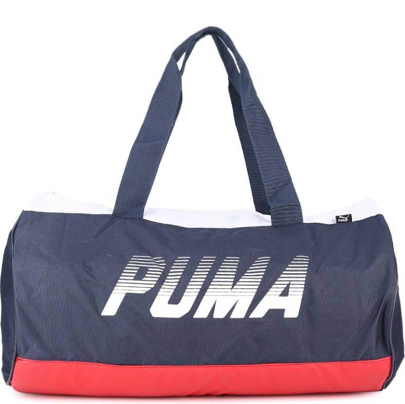 3f8bc6394534 Puma Gym Bag peacoat-barbados cherry - Price in India