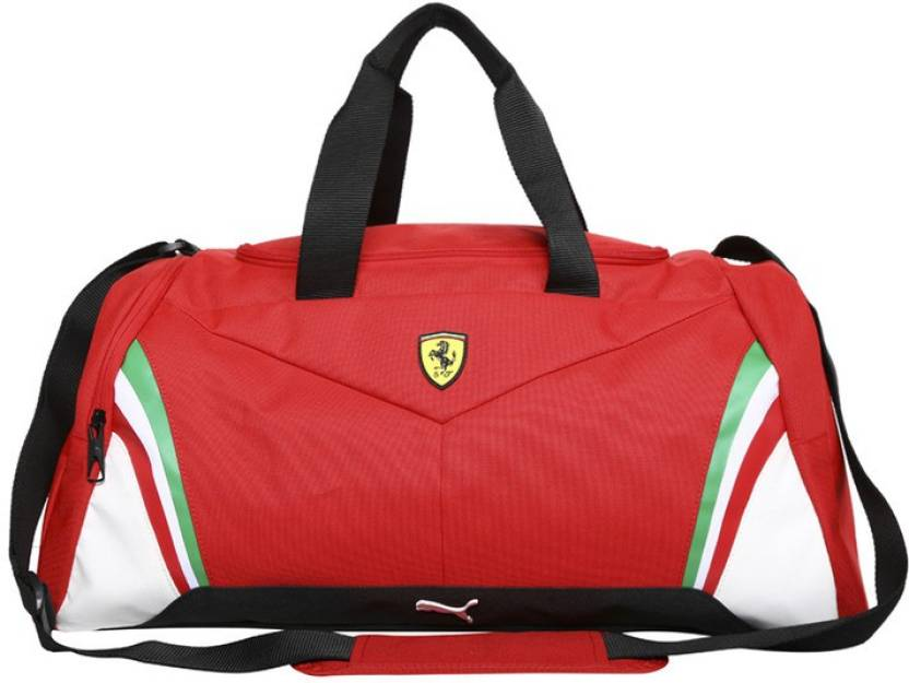 f19fb94e967d Puma 52 inch 132 cm Puma Ferrari Replica Medium Bag 52 inch 132 cm (rosso  corsa) Travel Duffel Bag (Red)
