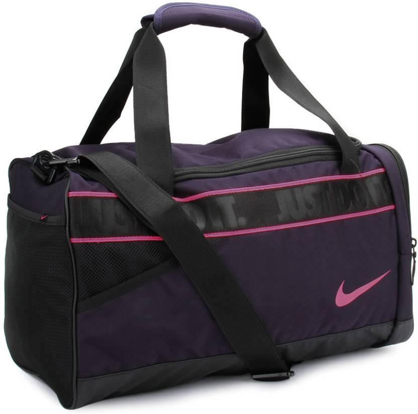 Nike 16 inch 43 cm Travel Duffel Bag Black and Purple - Price in India  86a3fe427c656