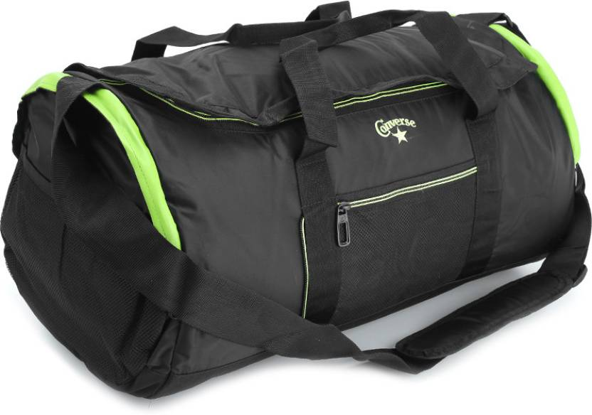 Converse 20 inch 51 cm Pro Travel Duffel Bag Black and Lime Green - Price  in India  4467fe89f125f