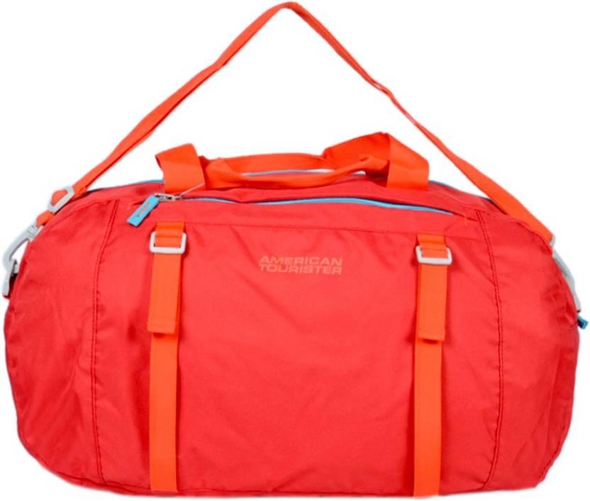 American Tourister 23 inch 60 cm JIve Travel Duffel Bag Red - Price ... f0fbc71f3bf