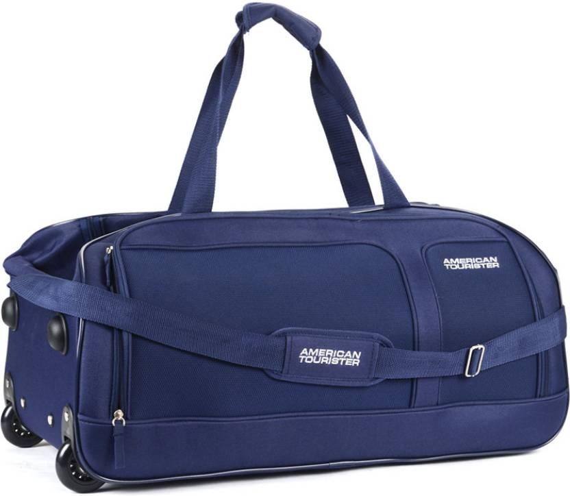 American Tourister 26 inch 67 cm Aegis Core Travel Duffel Bag Blue - Price  in India  4f80ebd00aeb5