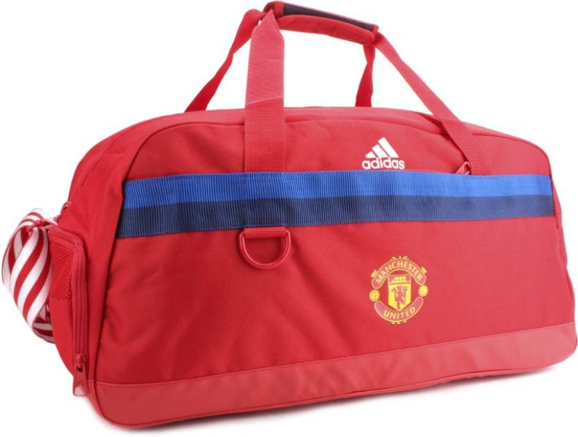 e001a4c718d6 ADIDAS 23 inch 60 cm Manchester United Travel Duffel Bag Scarle ...