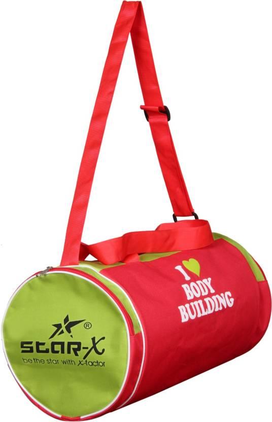 8b532889010d Star X Multicolor gym bag Gym Bag Black-08 - Price in India ...