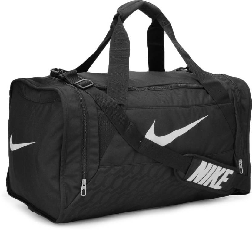 Nike 22 inch 58 cm Travel Duffel Bag Black and White - Price in India  1826eafe7ea56