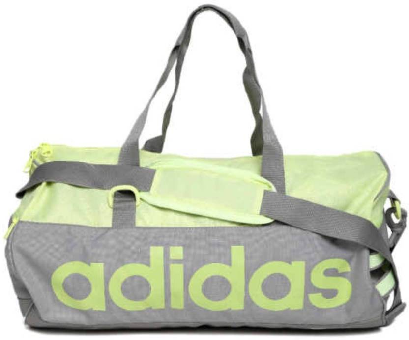 ADIDAS 20 inch 51 cm Lin Per TB Travel Duffel Bag Green-01 - Price ... 2eed9d6d77e06