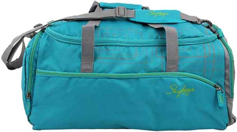 144be71171a873 Skybags 21 inch/55 cm AER Travel Duffel Bag GREEN - Price in India ...
