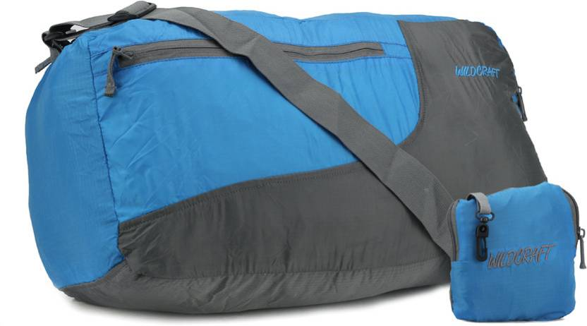 658e07348a Wildcraft 19 inch 50 cm Pac N Go Travel Duffel Bag Blue and Black - Price  in India