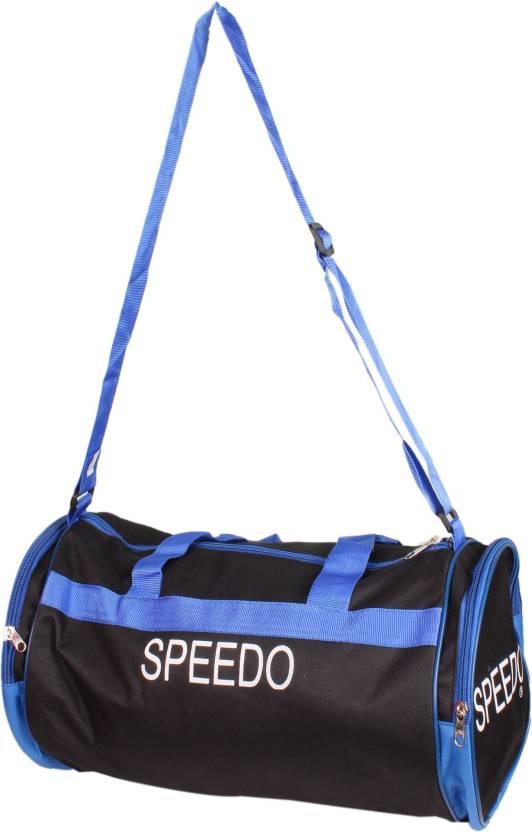 Sdo Black Gym Duffel Bag