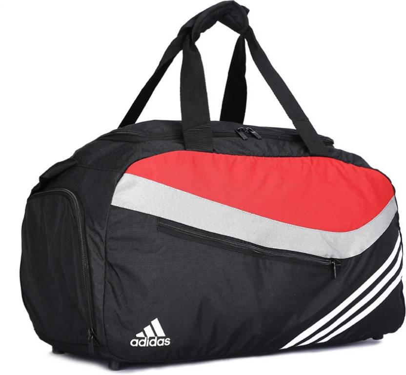 17352dfe44 ADIDAS Travel Duffel Bag Black - Price in India