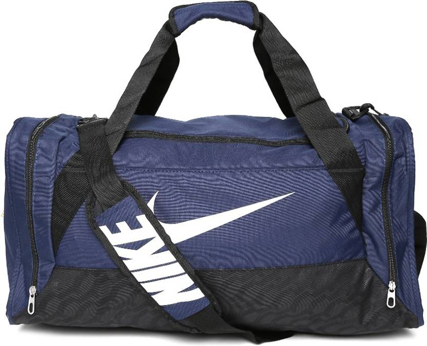 56db50c1af32 Nike 15 inch 38 cm (Expandable) Brasilia 6 Medium Duffel Travel Duffel Bag  (Blue)