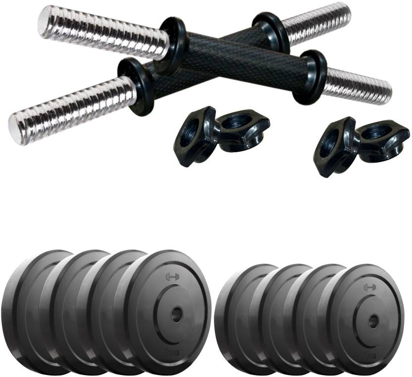 Headly DM-20KG COMBO16 Adjustable Dumbbell  (22 kg)