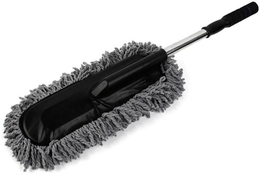 Car Wash Brush >> Zorden Removable Telescopic Car Microfibre Fiber Car Wash Brush Car Duster Car Mop Wet And Dry Duster