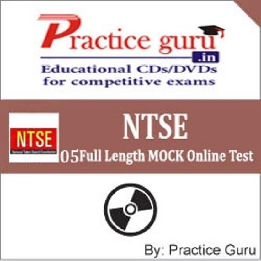 Practice Guru NTSE - 05 Full Length MOCK Online Test Price ...