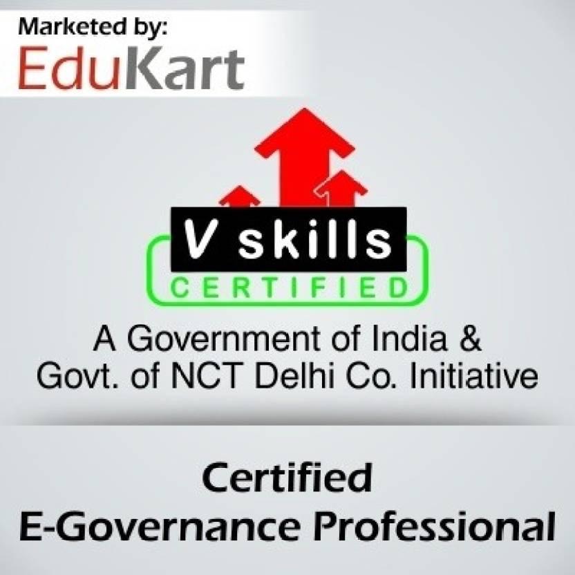 Vskills Certified E - Governance Professional - V Skills