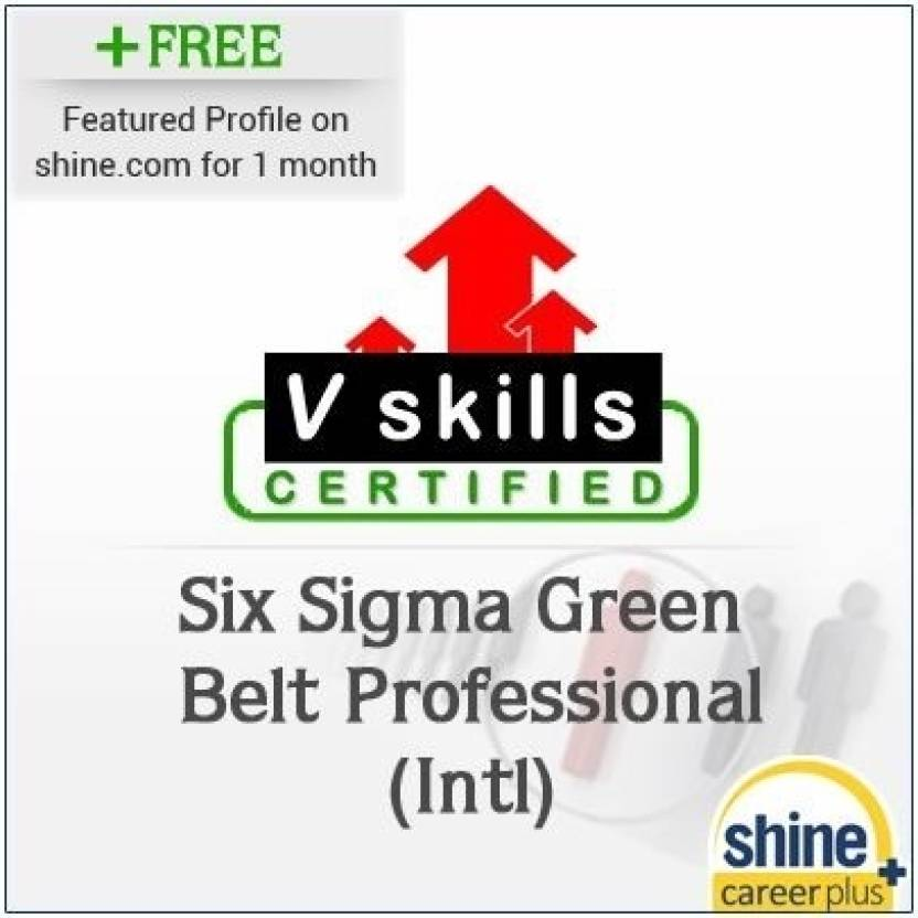 Careerplus V Skills Certified Six Sigma Green Belt Professional