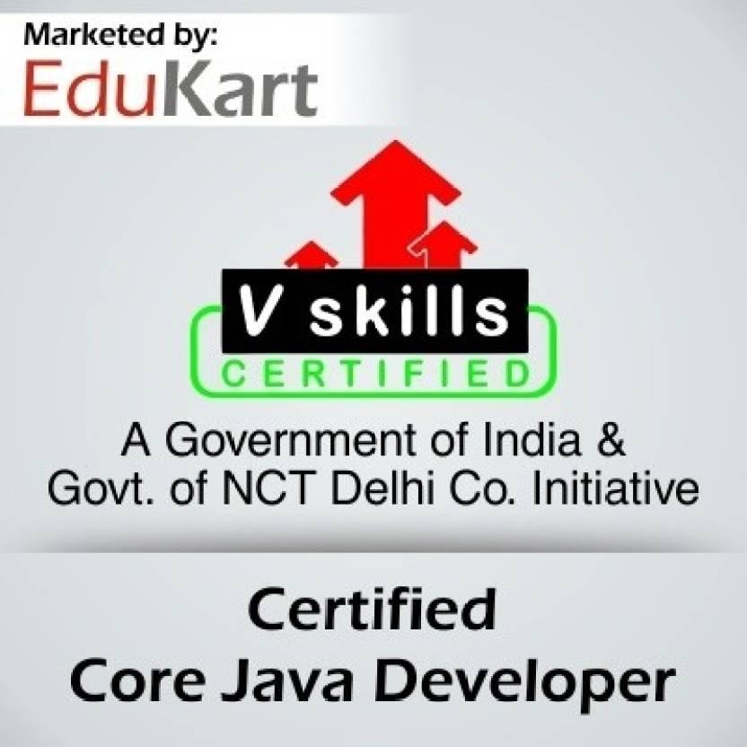 Vskills Certified Core Java Developer Certification Course Price In