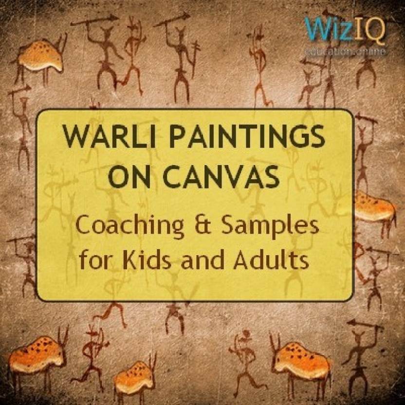 Wiziq Warli Paintings On Canvas Coaching Samples For Kids And
