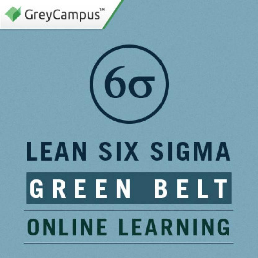 Greycampus Lean Six Sigma Green Belt Online Learning Certification