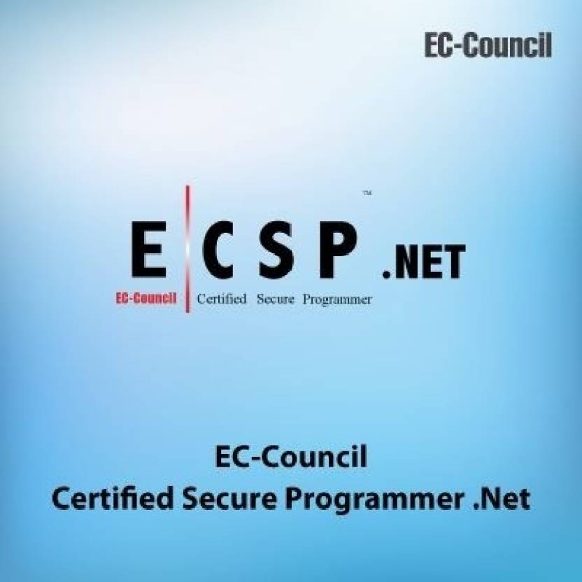Ec Council Secure Programming Certified Secure Programmer