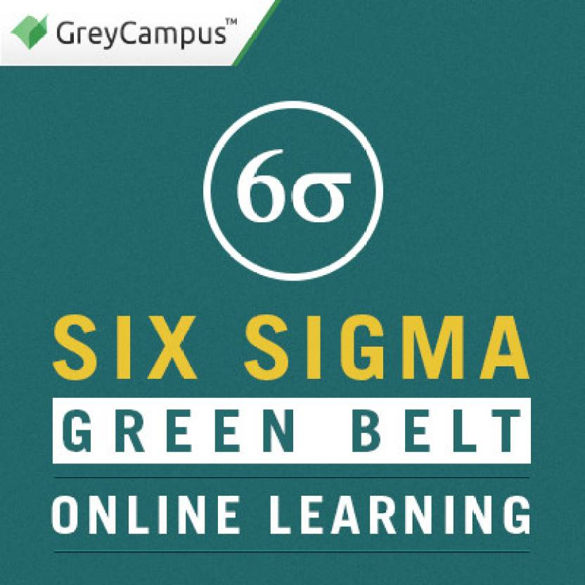 Greycampus Six Sigma Green Belt Online Learning Certification