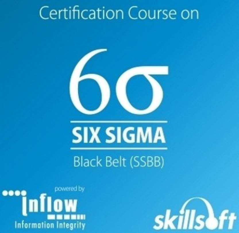 Skill Soft Six Sigma Black Belt Ssbb Certification Course Price In