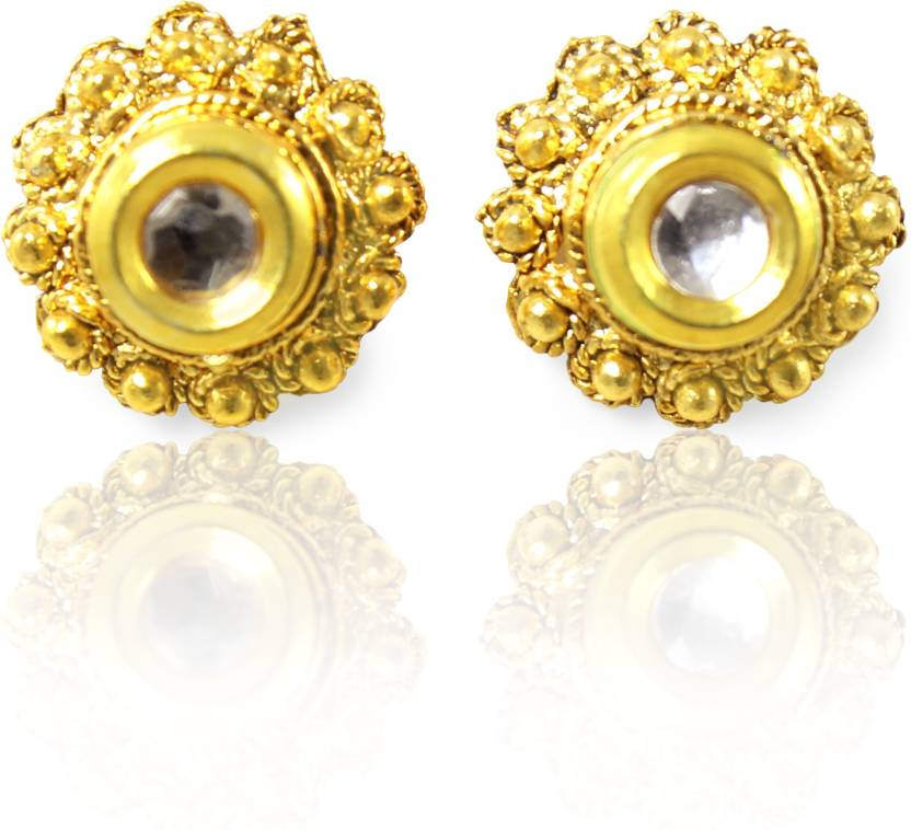 dad609e7c Flipkart.com - Buy Jewelskaro Antique Ear Tops Alloy Stud Earring Online at  Best Prices in India