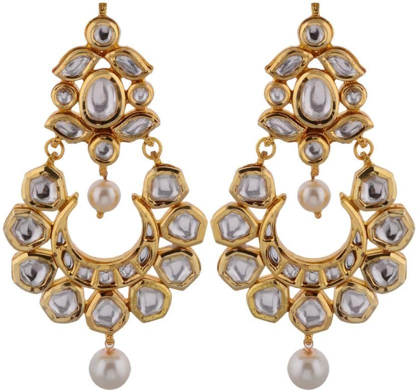 Flipkart Com Buy Artificial Jewellery Com Kundan Beauty Metal