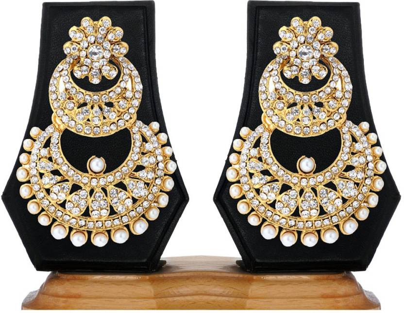 Ethnic Jewels Zircon Alloy Drop Earring