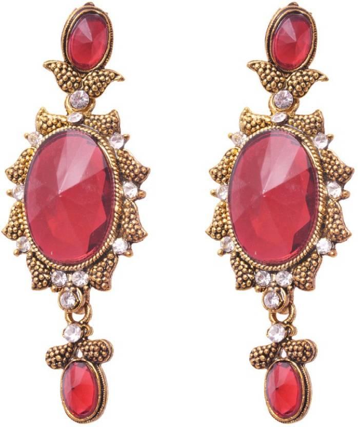 Flipkart.com - Buy SP Jewellery Earrings For Girls Alloy Drop ...