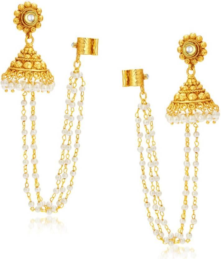 Sukkhi Creative Alloy Jhumki Earring