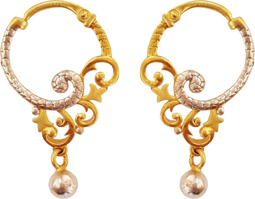 a8d01aa42 Flipkart.com - Buy Jewel One Beryl Gold Clip-on Earring Online at Best  Prices in India