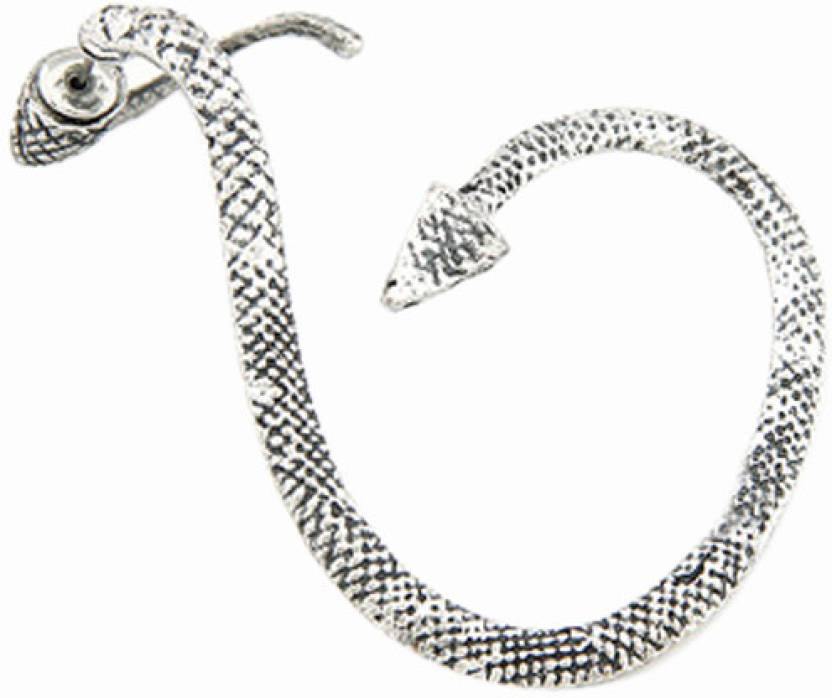 1fd7ca6c7 Flipkart.com - Buy Young & Forever Snake Twist (Left Ear) Alloy Cuff Earring  Online at Best Prices in India