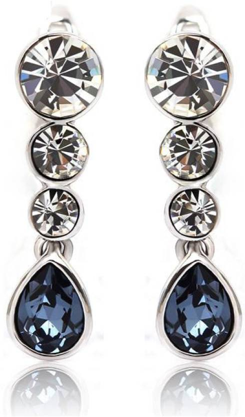 Swarovski Elements Ouxi Crystal Zinc Dangle Earring