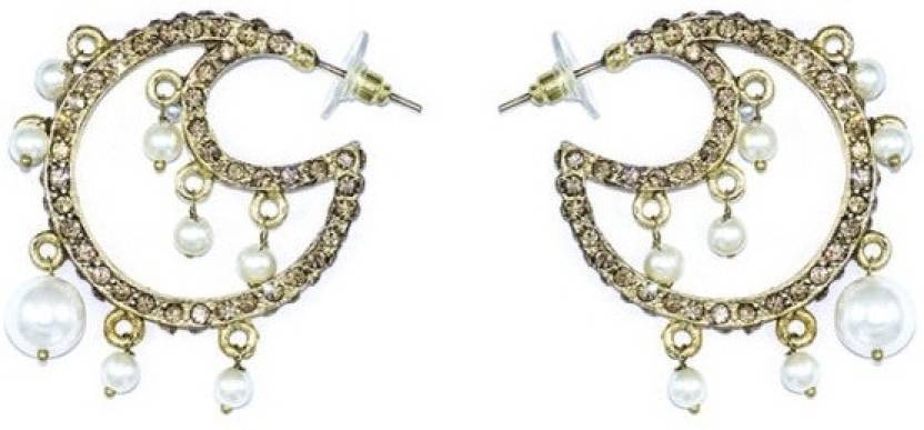 922ec5394 Flipkart.com - Buy Shagun Alloy, Metal Hoop Earring Online at Best Prices in  India