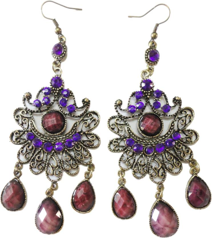 Trendz Collections Designer Alloy Dangle Earring