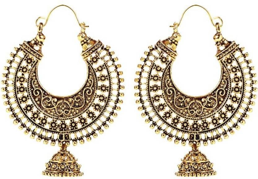 Flipkart.com - Buy GoldNera Alloy Chandelier Earring Online at ...