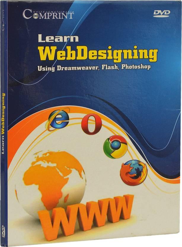 COMPRINT Learn Web Designing Using Dreamweaver, Flash, Photoshop