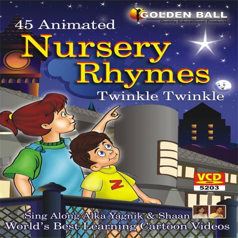 Golden Ball 45 Animated Nursery Rhymes Le Little Star