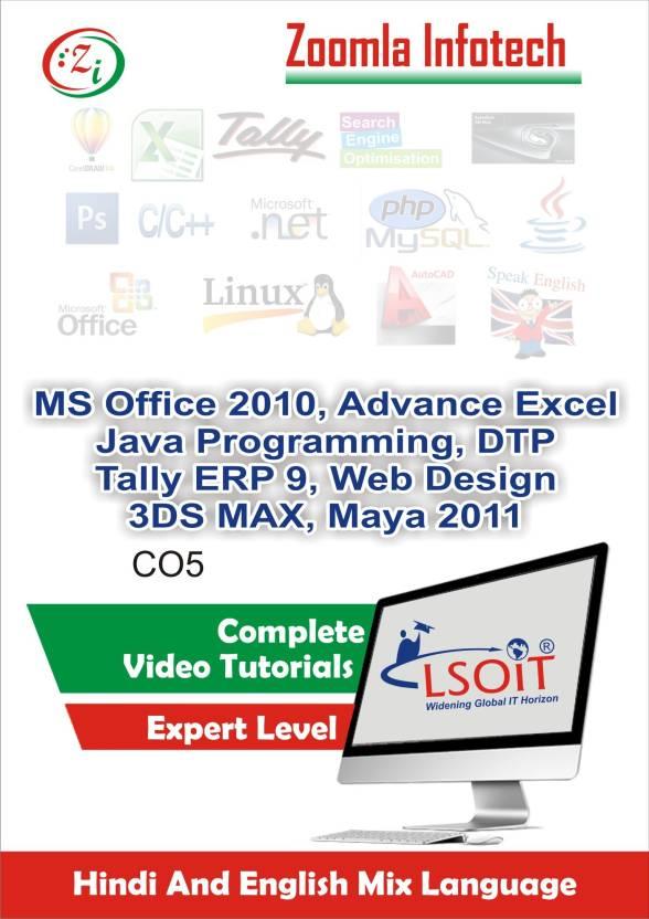 LSOIT MSOffice, DTP,Tally9,Web Designing,3DS Max Tutorials