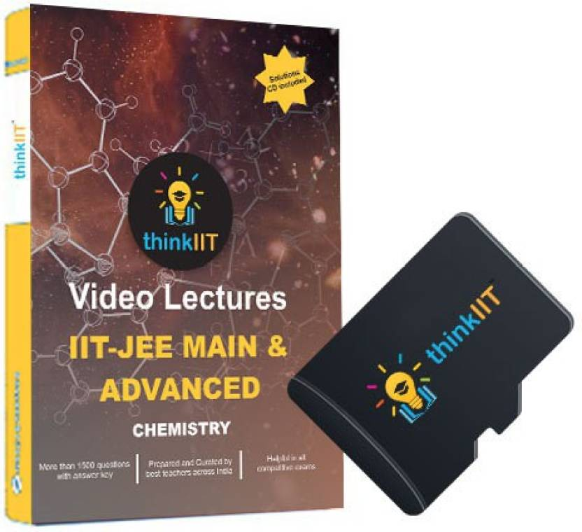 thinkIIT IIT JEE Video Lectures : Chemistry Complete : In MicroSD Card