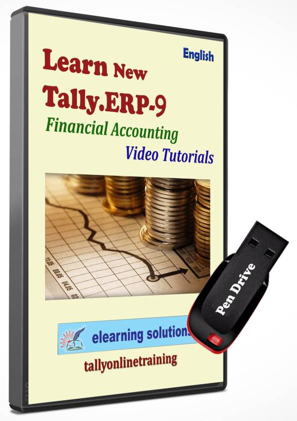 Elearning solutions tally erp 9 financial accounting video.