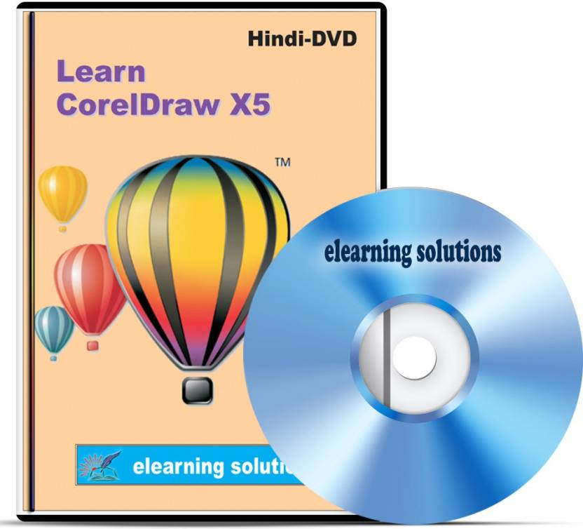 Elearning Solutions Corel Draw X-5 Video Tutorial DVD in