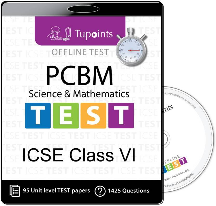 Tupoints ICSE class 6 PCBM(Physics,Chemistry,Biology,Math) Offline